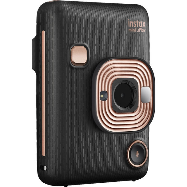 Fujifilm INSTAX Mini LiPlay Instant Camera (Elegant Black) + Cashback