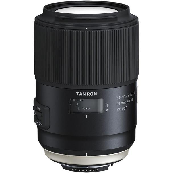 Tamron SP 90mm F2.8 DI MACRO 1:1 VC - Nikon & $100 Cashback