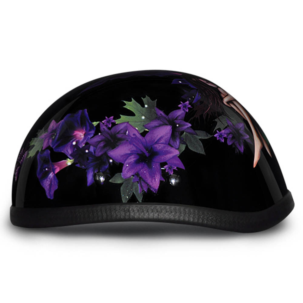 Ladies | Womens Fairy Novelty Motorcycle Helmet by Daytona - Size XS-2XL