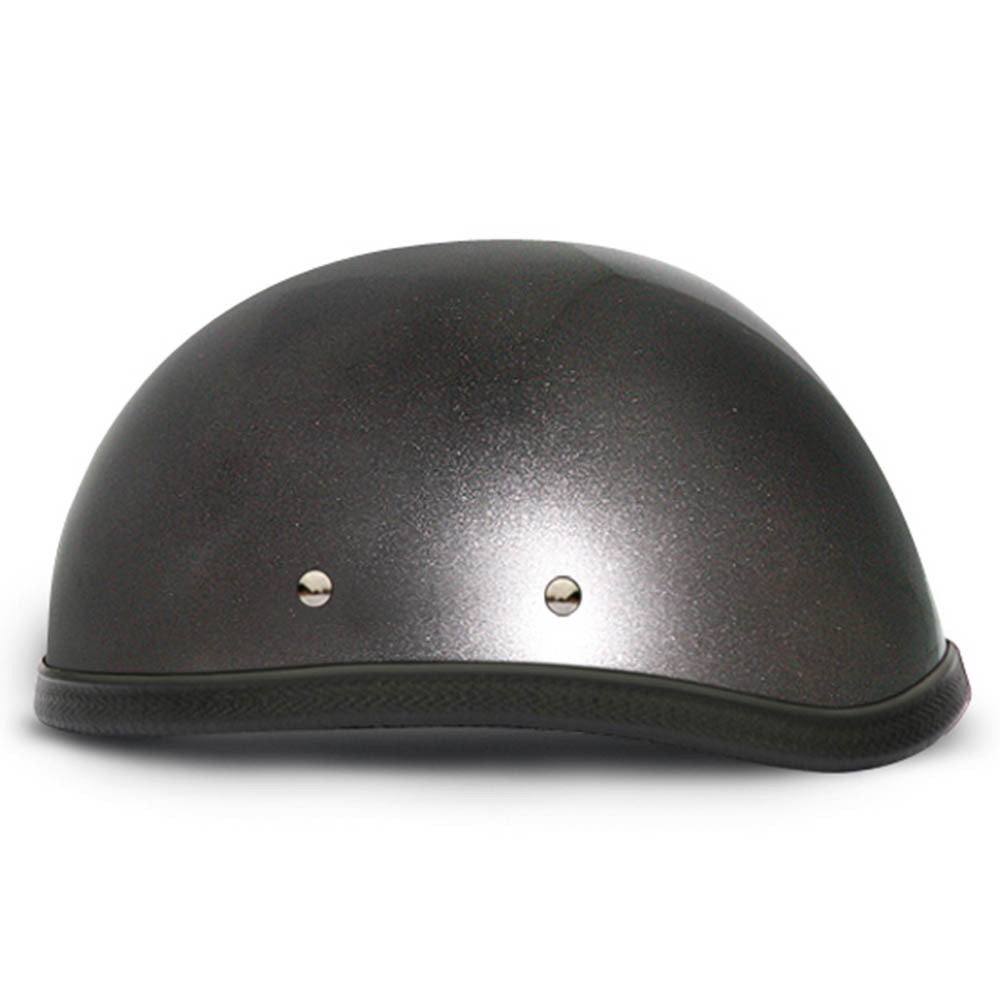 Gun Metal Grey Novelty Motorcycle Helmet | Novelty Helmets | by Daytona XS-2XL