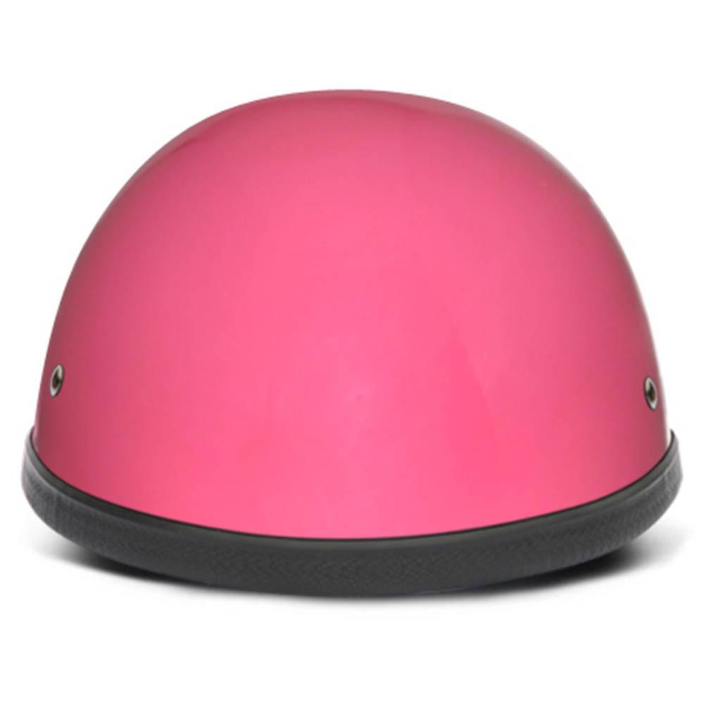 Ladies   Womens Pink Novelty Motorcycle Helmet by Daytona - Size XS-2XL