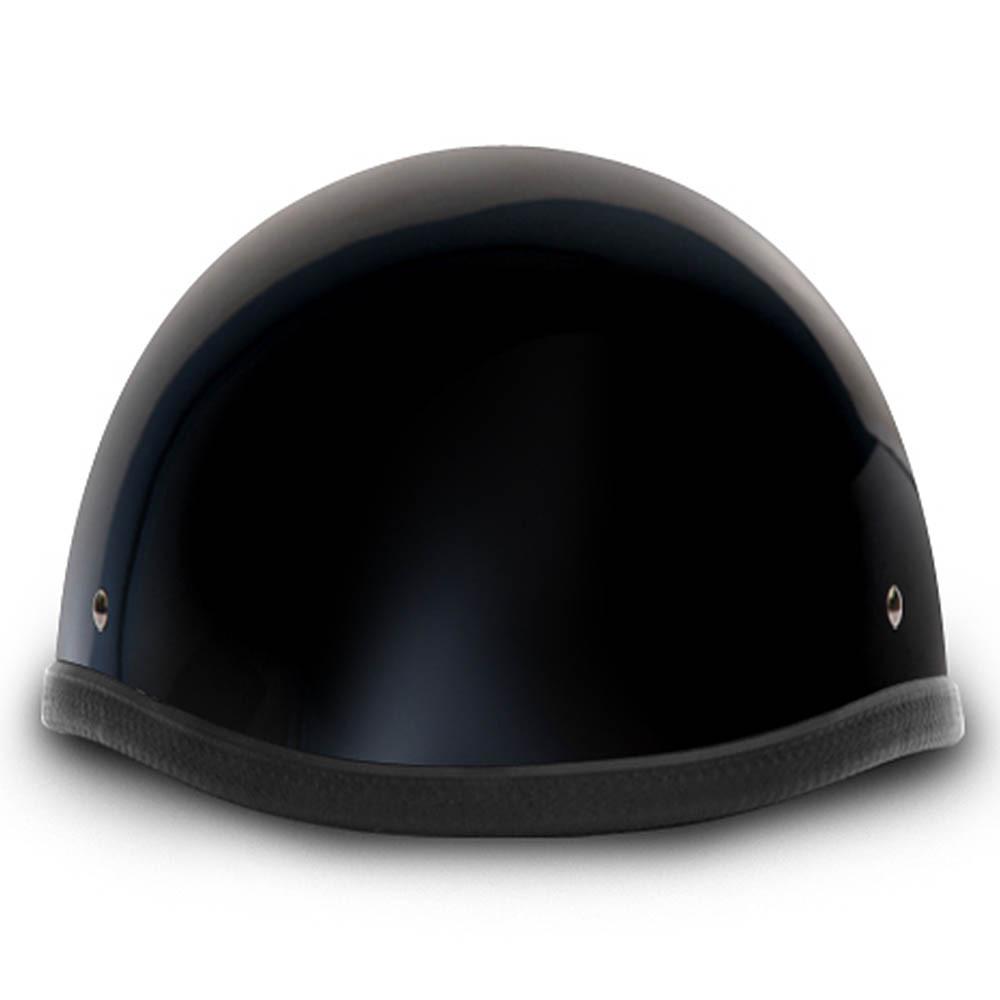 Gloss Black Smokey Style Novelty Motorcycle Helmet by Daytona Helmets XS-2XL