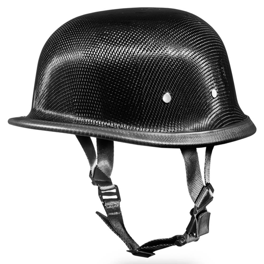 Carbon Fiber Motorcycle Helmets >> Real Carbon Fiber German Novelty Motorcycle Helmet By Daytona Xs