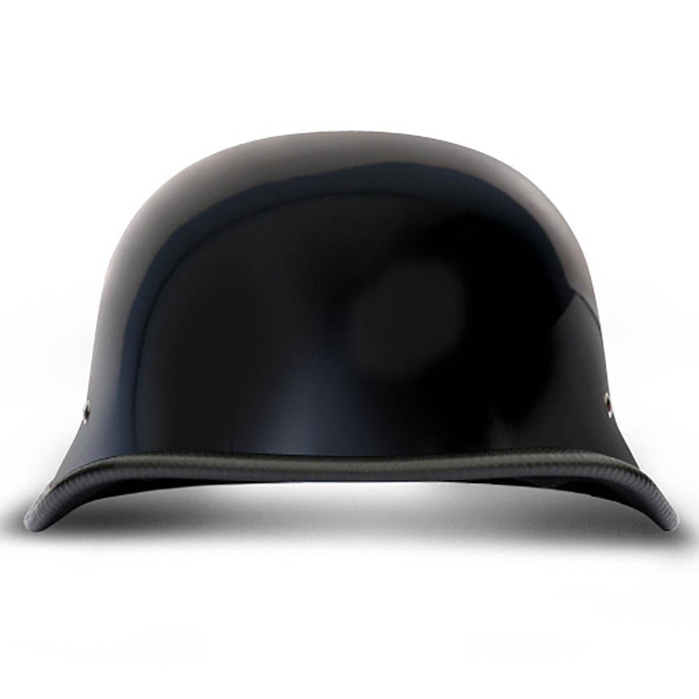 German Novelty Motorcycle Helmet | Black German Novelty Helmet by Daytona XS-2XL