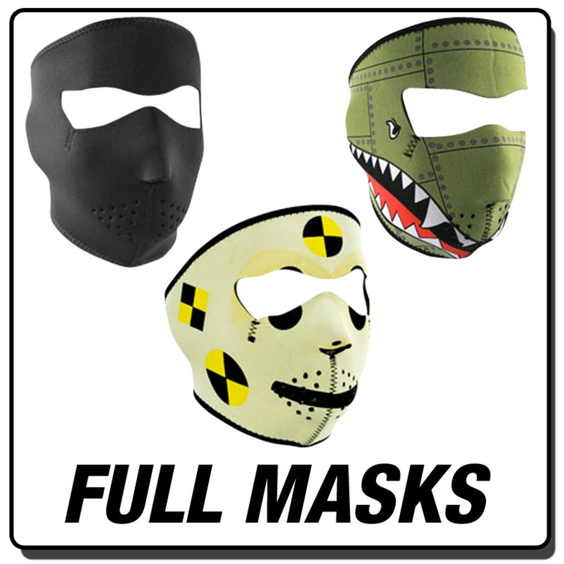 Neoprene - Full Masks