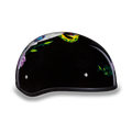 D.O.T. DAYTONA SKULL CAP- W/ DIAMOND SKULL