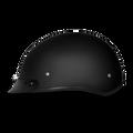 D.O.T. DAYTONA SKULL CAP- DULL BLACK