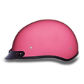D.O.T. DAYTONA SKULL CAP- HI-GLOSS PINK
