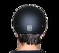 D.O.T. DAYTONA SKULL CAP- BLACK CHERRY METALLIC