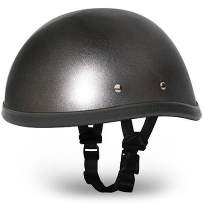 Gun Metal Grey Novelty Motorcycle Helmet | Novelty Helmets | by Daytona XS-2XL
