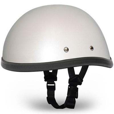 Pearl White Novelty Motorcycle Helmet | Novelty Helmet - Daytona XS S M L XL 2XL