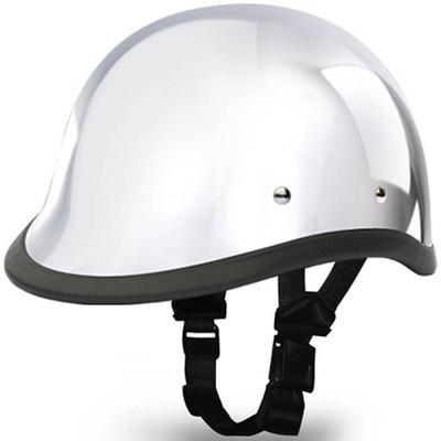 Real Chrome Hawk Novelty Motorcycle Helmet | Novelty Helmets by Daytona XS-2XL