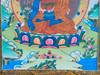 "Medicine Buddha Thangka - 47"" x 32"""