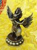 Garuda Statue, copper with silver