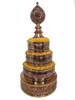 """Mandala Set, Copper Engraved 4"""""""
