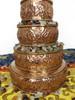 """Mandala Set, Copper 5"""""""