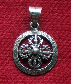 Double Dorje Pendant