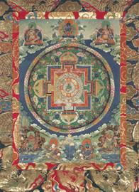 Green Tara Mandala Deity Card