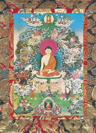 Buddha Shakyamuni's Enlightenment Deity Card