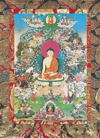 Buddha Shakyamuni's Enlightenment Deity Card