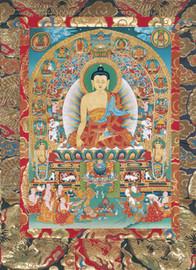 Shakyamuni Buddha Deity Card
