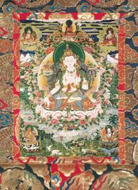 Manjushri (White) Deity Card