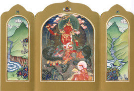 Manjushri - Traveling Altar Card