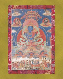 Dorje Chang (Vajradhara) - Large Deity Card