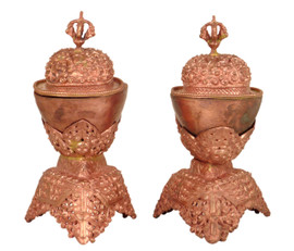 Copper Kapala Set 7""