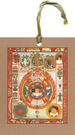 Srid-Pa-Ho (Protection) Hanging Mandala Card