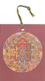 Amitayus (Longevity) Hanging Mandala Card