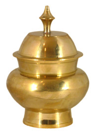 Brass Rice Vase