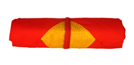 Red and Yellow Cloth for Pecha Wrapping and Mandala Offerings