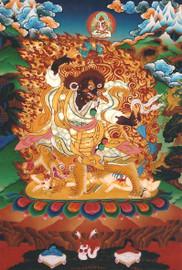 Dorje Drolod with Amitayus Photo