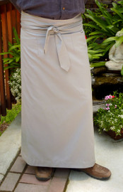 Light Grey Meditation Skirt Uni-sex