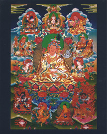 Guru Rinpoche Eight Manifestations Photo