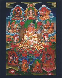 Guru Rinpoche Eight Manifestations Photo