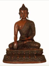 Resin Buddha Shakyamuni Statue