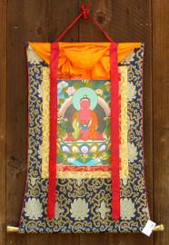Traditional brocade frame