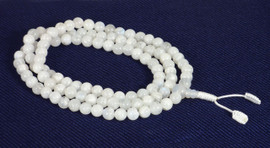 Rainbow Moonstone Mala (8mm)