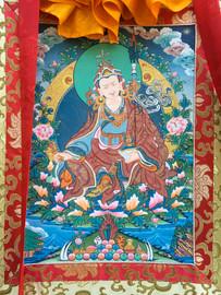 "Guru Rinpoche Thangka #2 - 31"" x 21"""