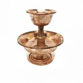 Serkyem (Serkym) Set, Etched Copper, Small
