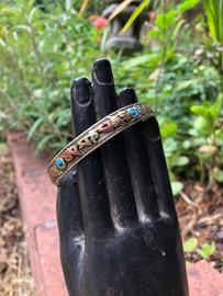 Multi-Metal Mantra Bracelet Tibetan