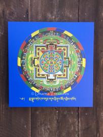Seven Treasures (Guru Rinpoche) Sand Mandala Canvas Print 20x20