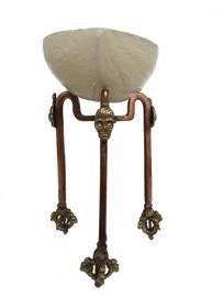 Kapala Stand w/ Dorje, Brass