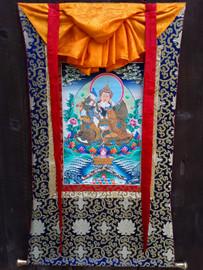 Thangka, Guru Rinpoche Yab Yum
