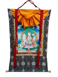Thangka, White Tara #1