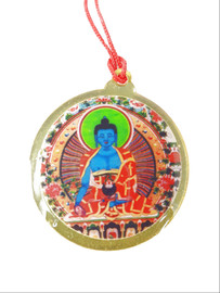 Medicine Buddha Medallion