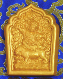 Dorje Drolod Tsa Tsa (Golden Painted)