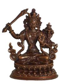 "Manjushri Statue 2.25"""